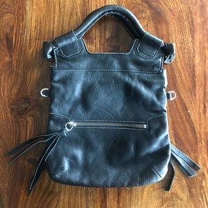 Foley and Corinna black leather purse